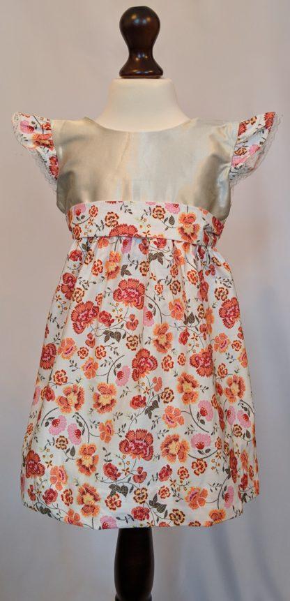Pink dianthus dress