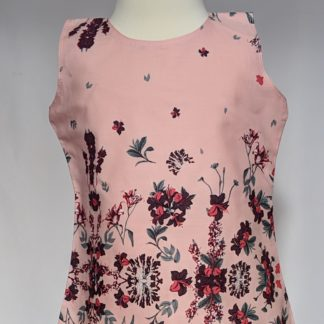 Pink fuchsias top