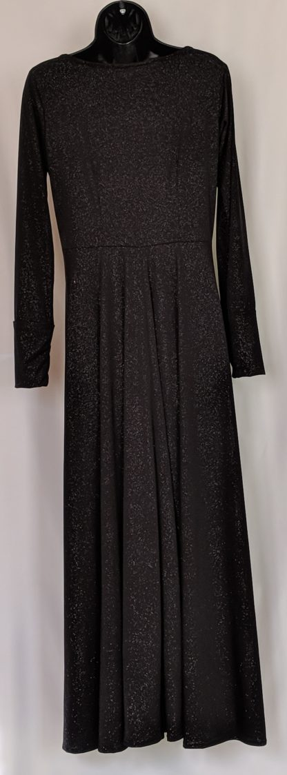 Black abaya dress