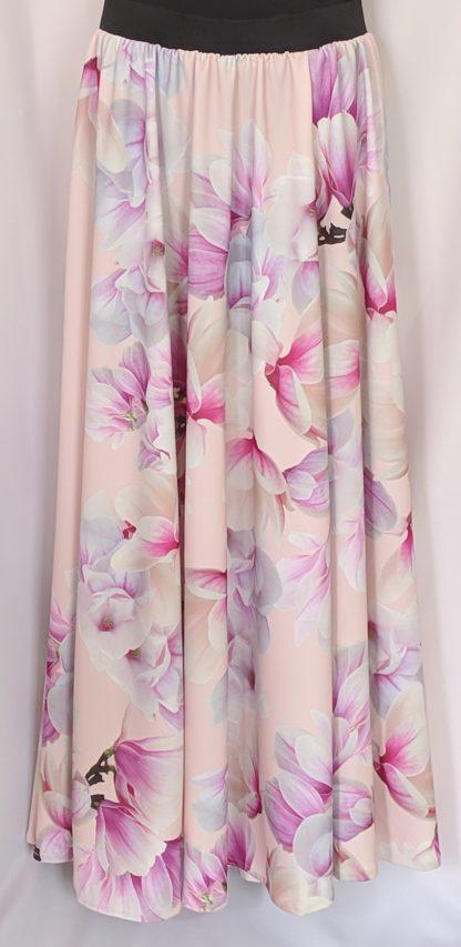 Light pink magnolia skirt