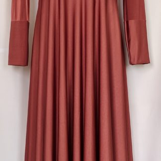 Brown abaya dress