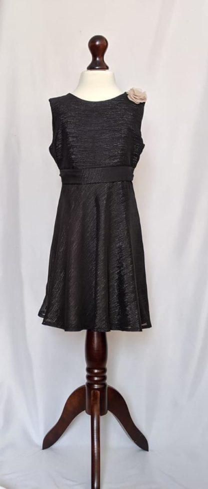 Shimmery black dress