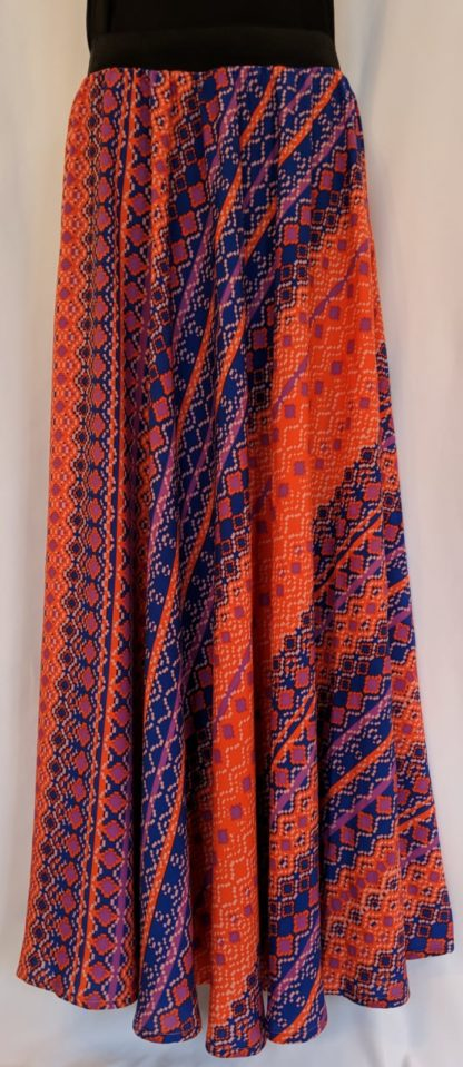 Tribal design skirt.
