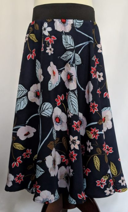 Floral girl's maxi skirt duo