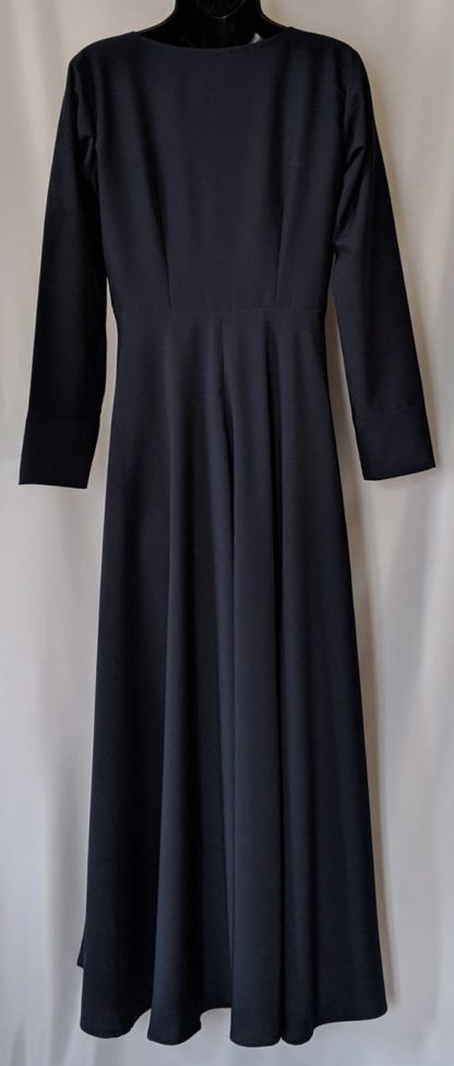 Midnight blue Abaya dress