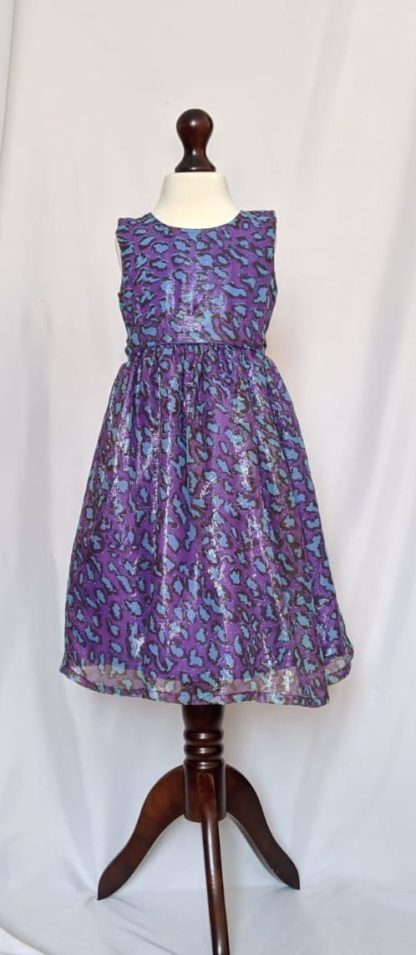 Purple Shimmer Dress