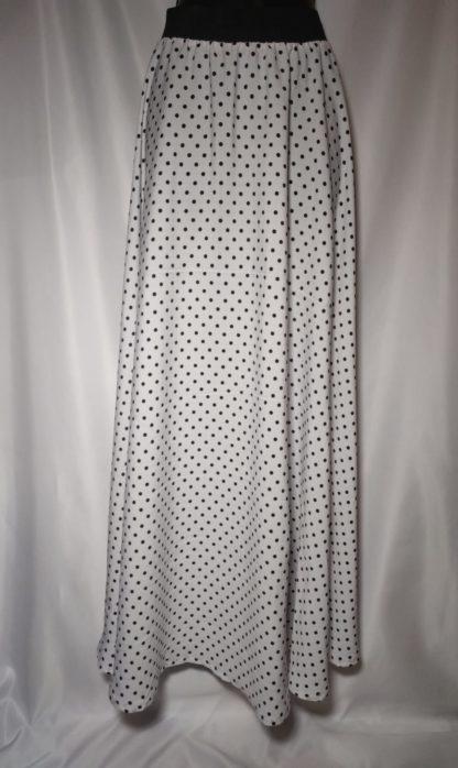 Dalmatian maxi skirt