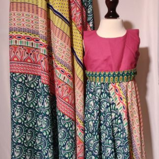 Multi coloured maxi skirts