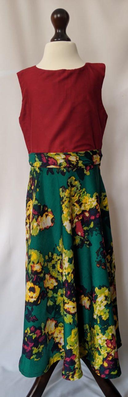Emerald girl's dress