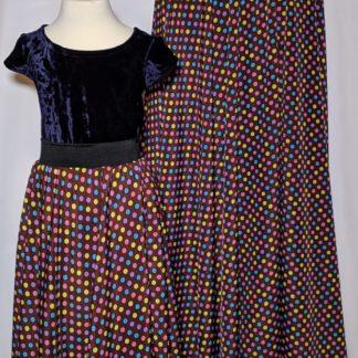 Disco Polka maxi skirts