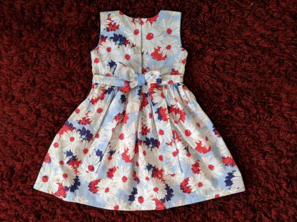 Sky blue wild daisy dress