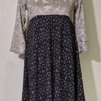 Spring floral dress