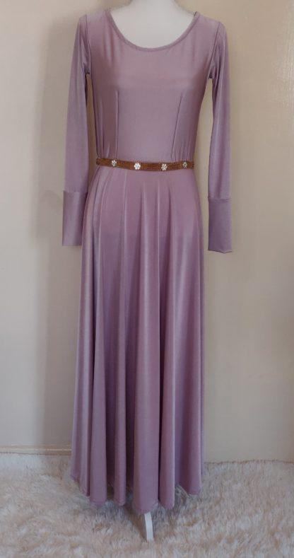 Candy floss maxi dress