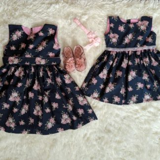 Navy twin dress