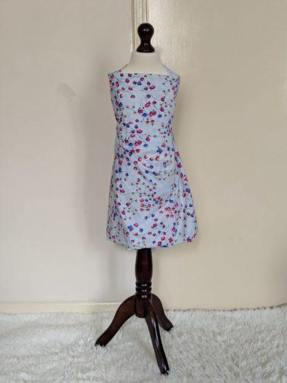 Pastel blue floral drops twin dress