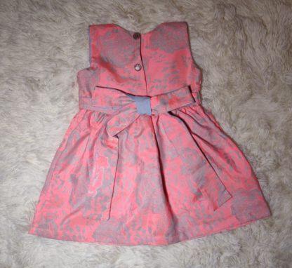 Coral Rose dress