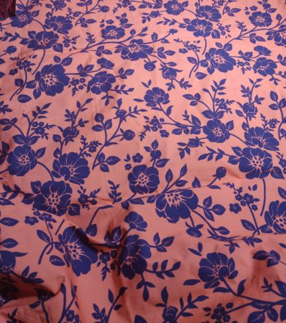 Orange and blue twin dress