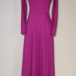Light magenta maxi dress