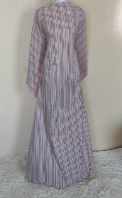 pink Stripe maxi dress