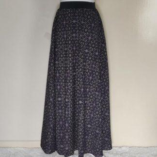 Light magenta maxi dress