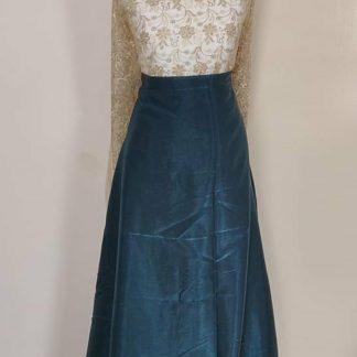 brown printed maxi dress