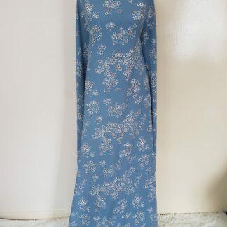 Multi coloured navy maxi dress
