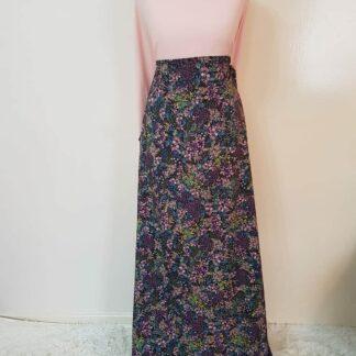 Polka maxi dress