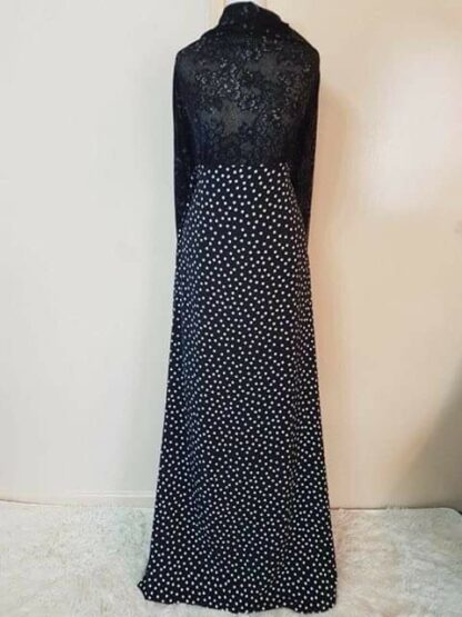 Polka maxi dress (nursing)