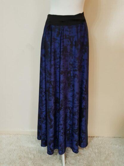 Purple dye skirt