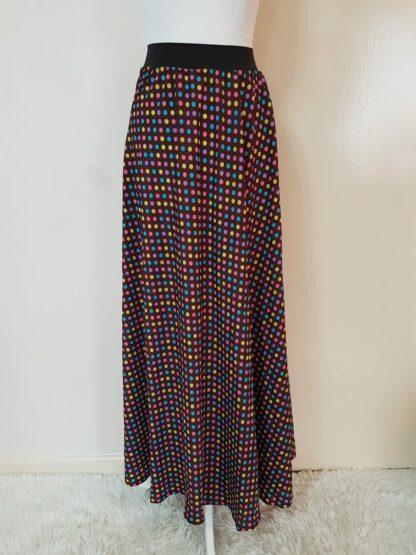 Disco light maxi skirt