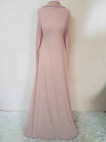 Shimmer peace maxi dress