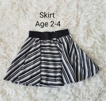 Zebra Stripe skirt