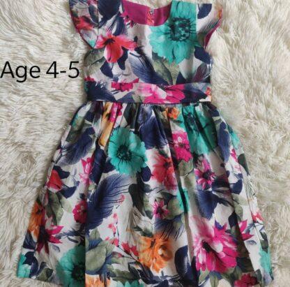 Multi floral dress
