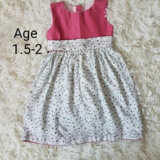 Pink white floral