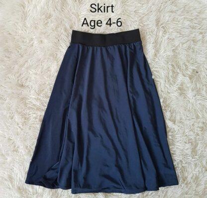 Navy girls skirt